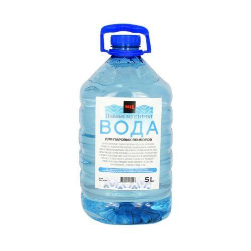 badf10dbefcb Специально подготовленная вода для паровых приборов 101 - Аксессуары ...
